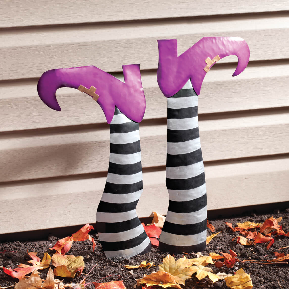 Metal Witch Legs Set of 2 by Fox River Creations™-360058