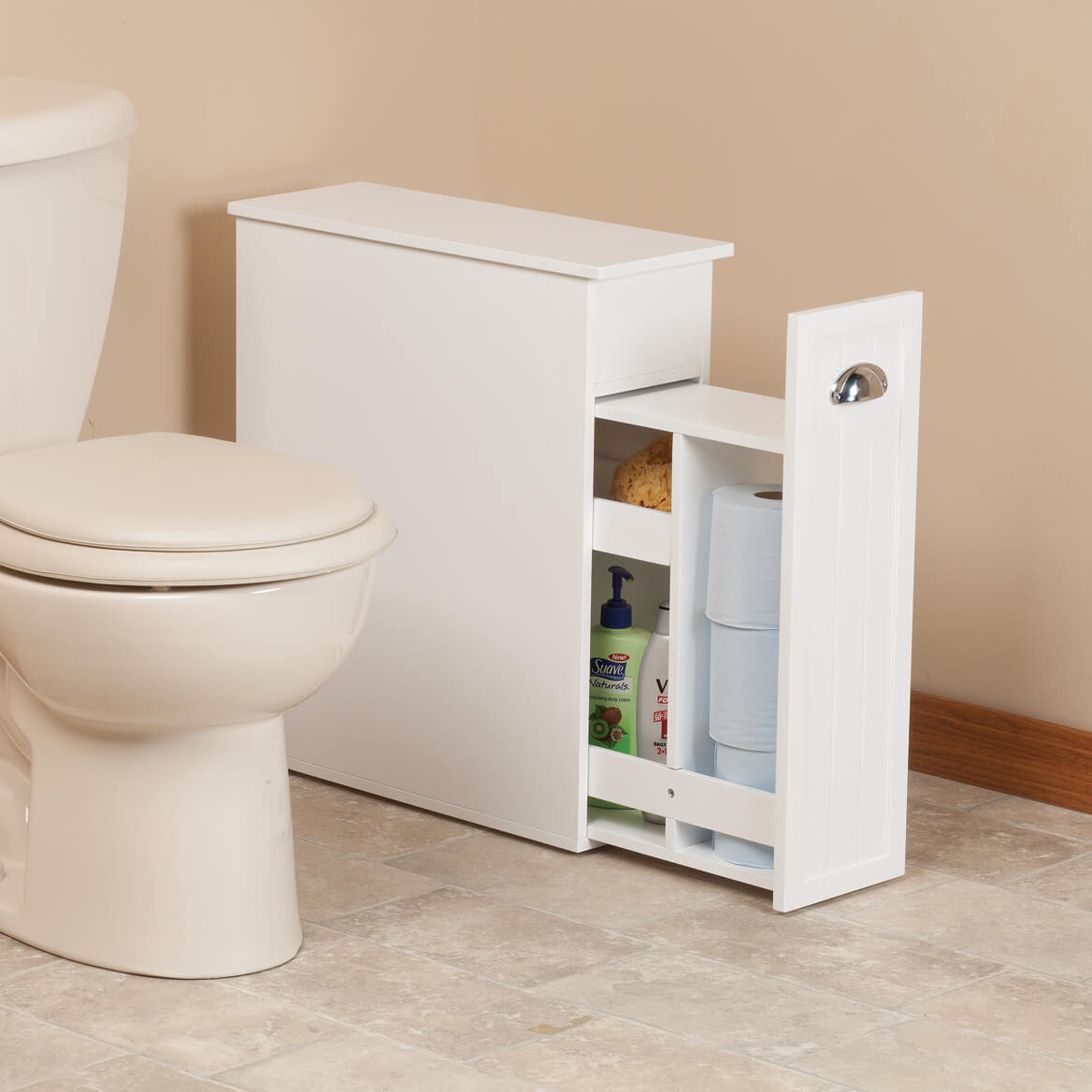 Slim Bathroom Storage Cabinet by OakRidge™