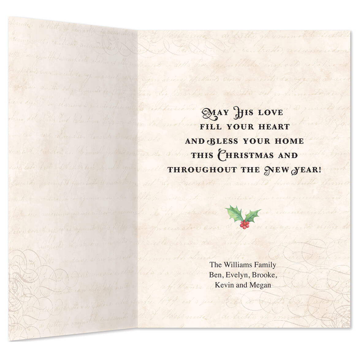 Personalized Good News Christmas Card Set of 20-360171