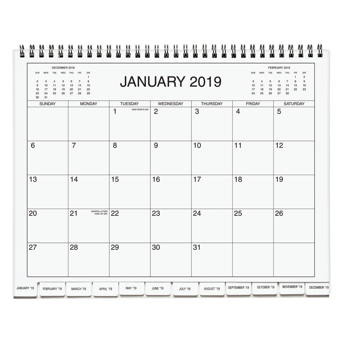 3 Year Calendar 2019 2021 Three Year Calendar Miles Kimball