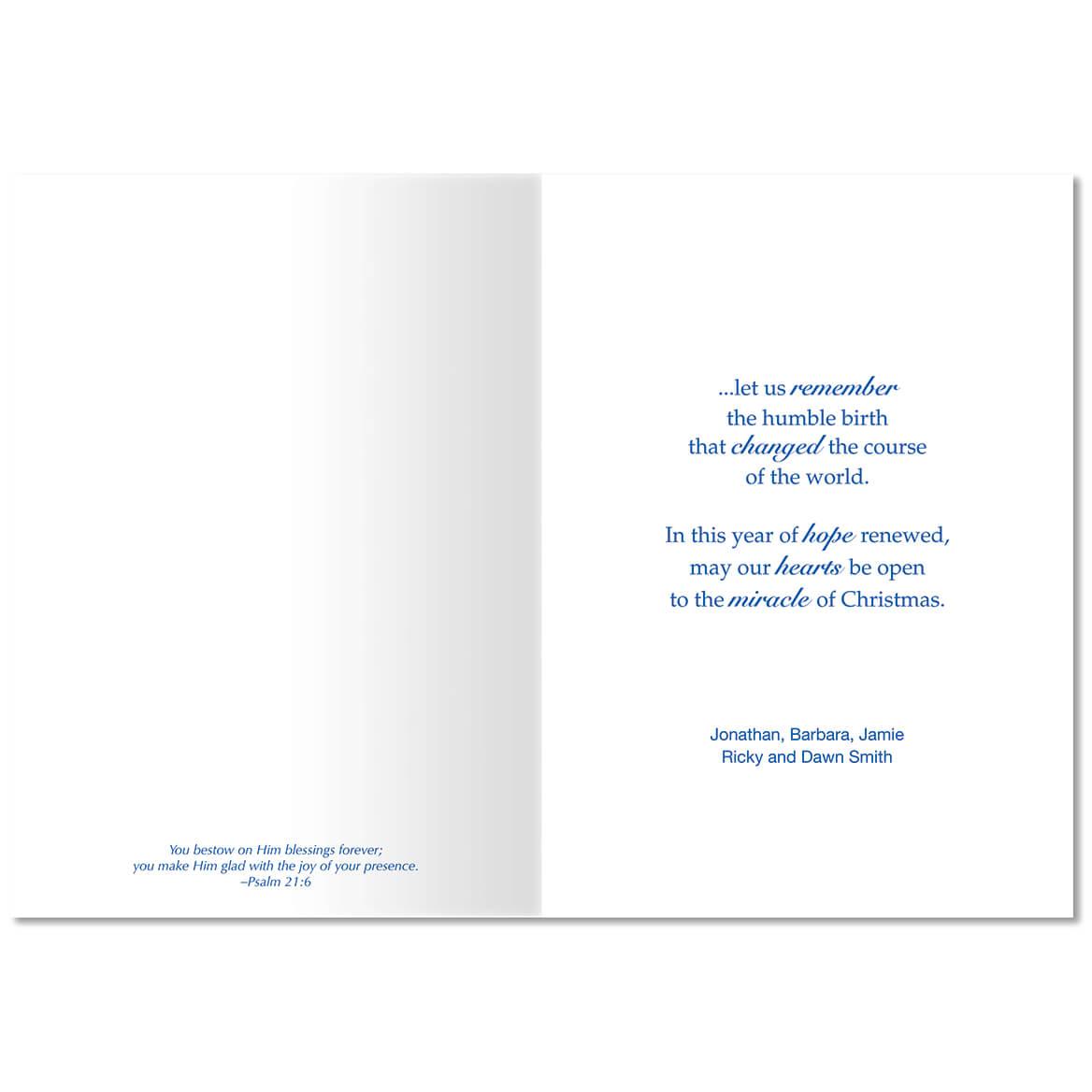 One Solitary Life - Greeting Card - Miles Kimball