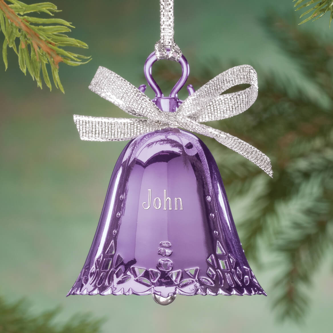 Personalized Birthstone Bell Ornament-360615