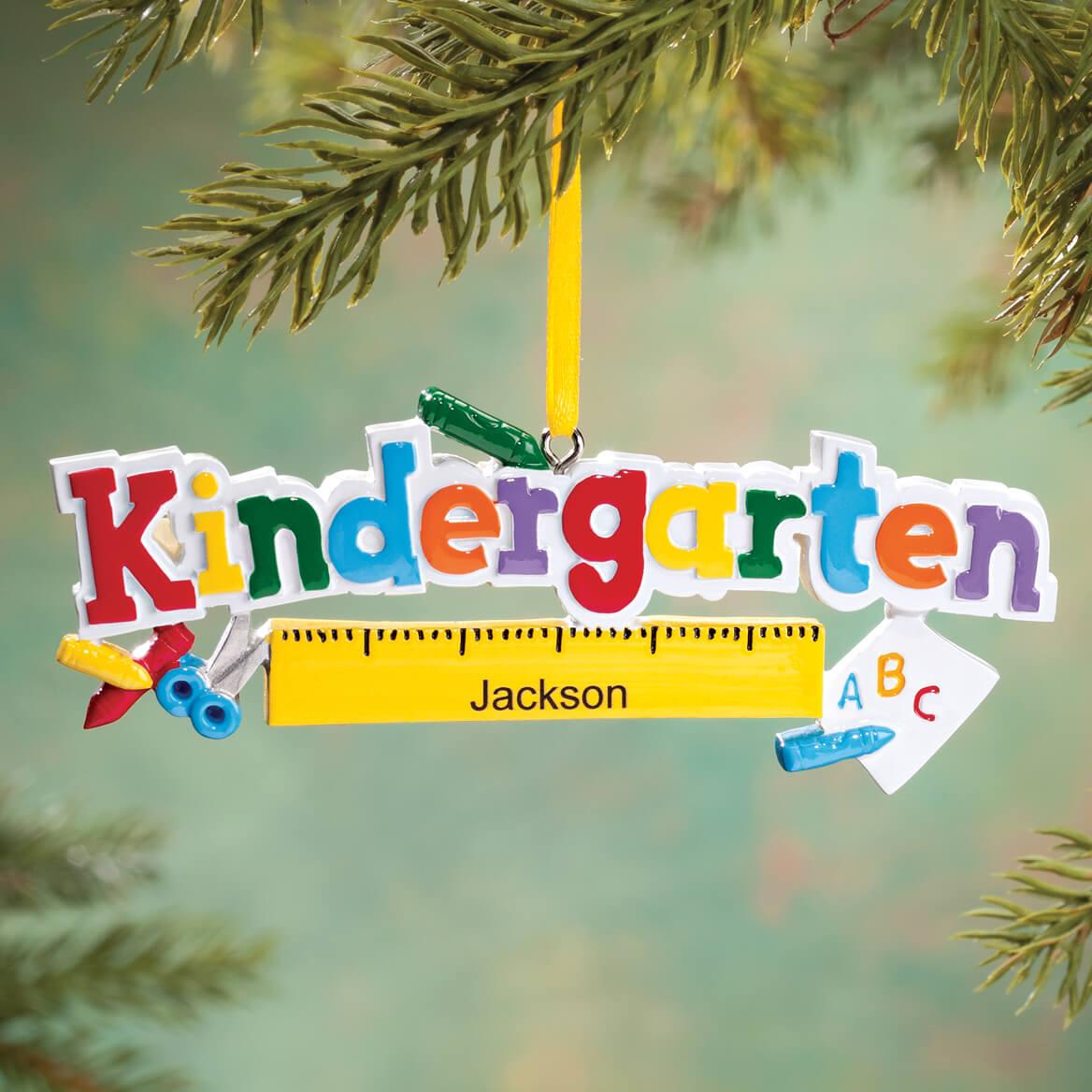 Personalized Kindergarten Ornament-360643