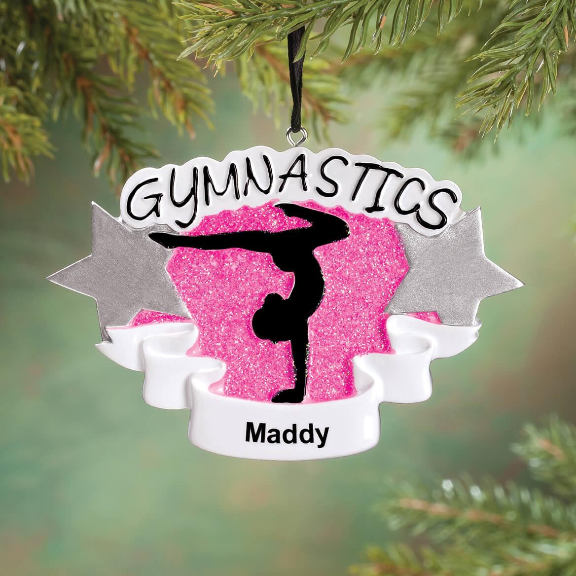 Personalized Gymnastics Ornament-360658
