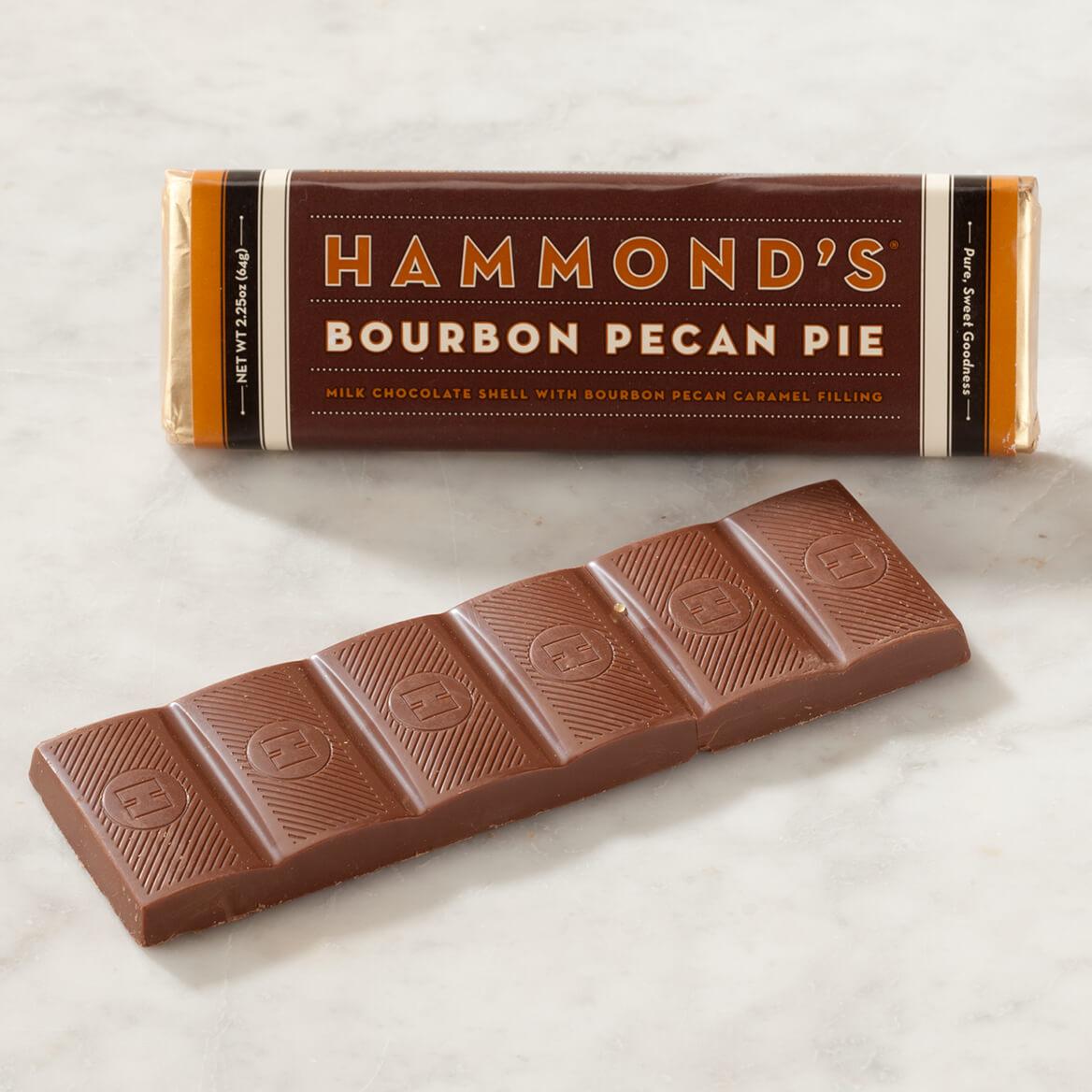Hammond's Bourbon Pecan Pie Milk Chocolate Bar - Miles Kimball