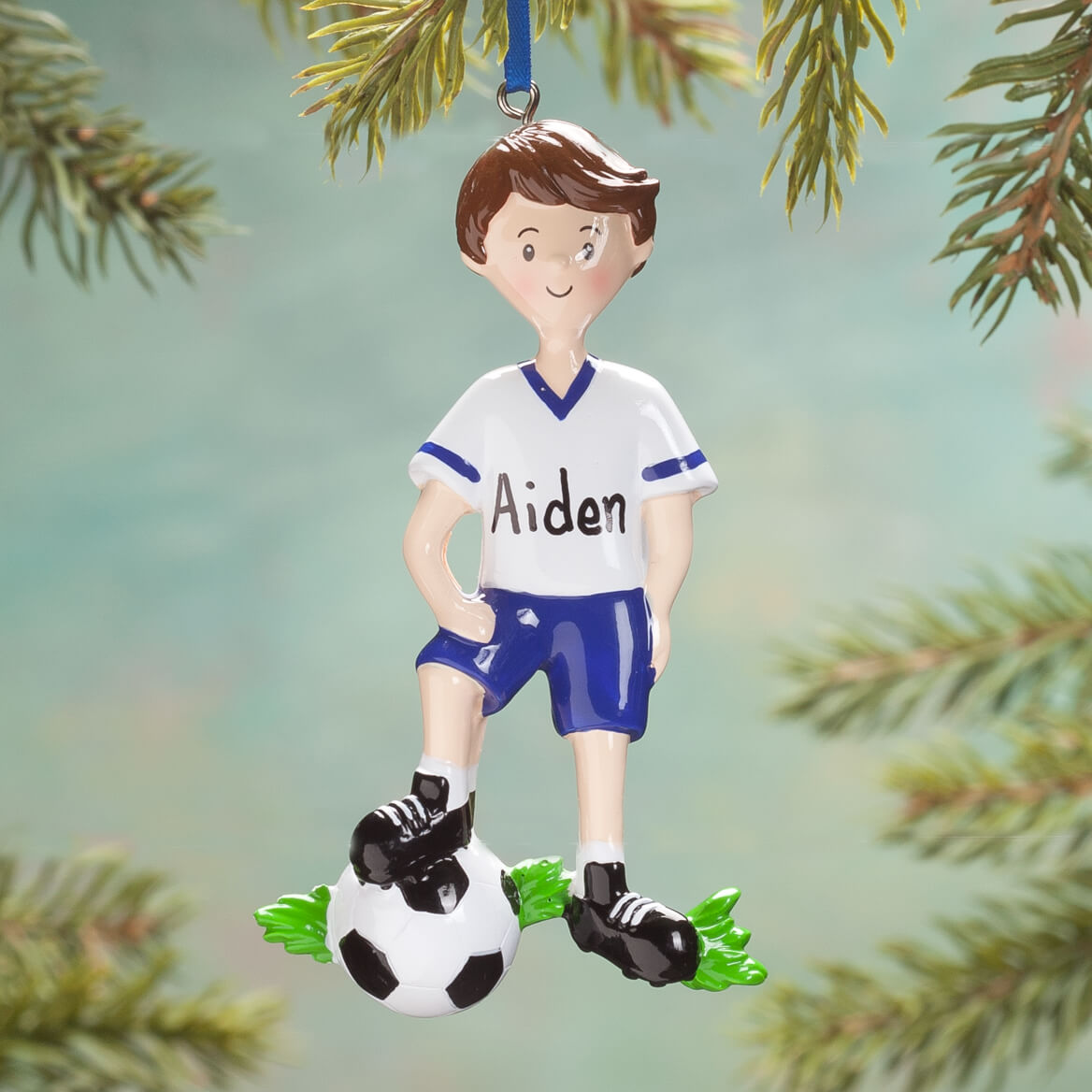 Personalized Soccer Player Ornament-361282