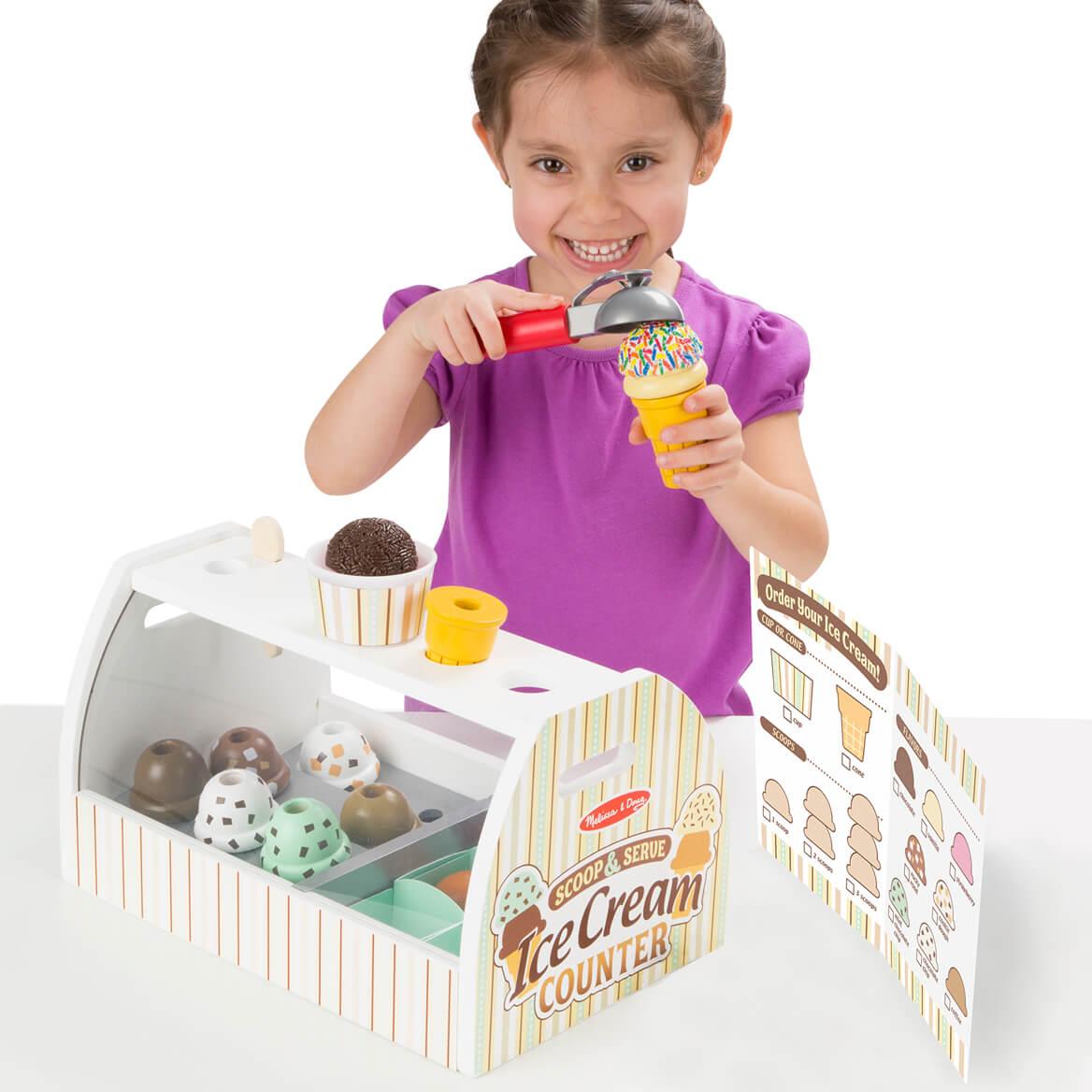 Melissa & Doug® Scoop & Serve Ice Cream Counter-361511