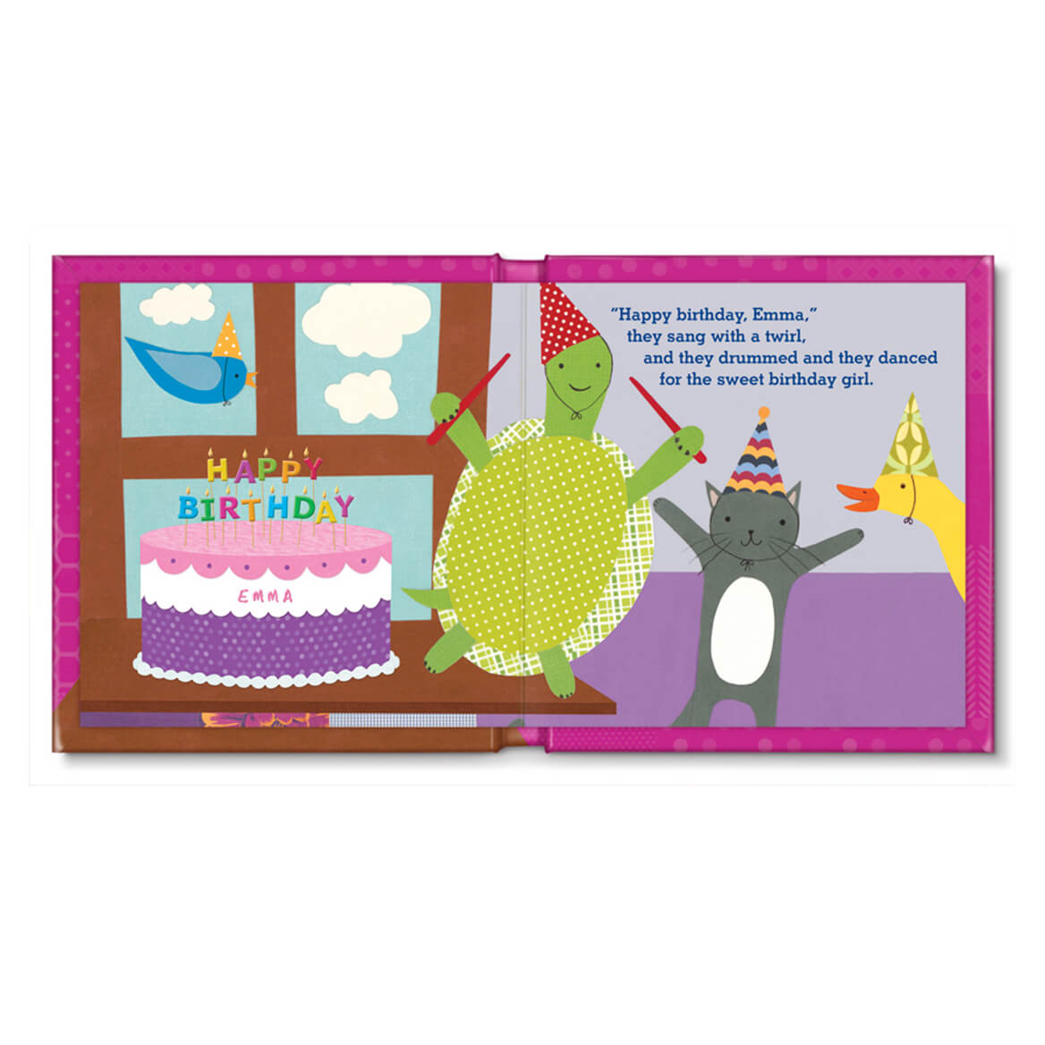 Personalized My Very Happy Birthday for Girls Storybook-361613