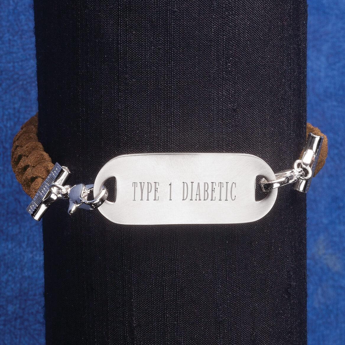 Personalized Medical ID Braided Bracelet-361638