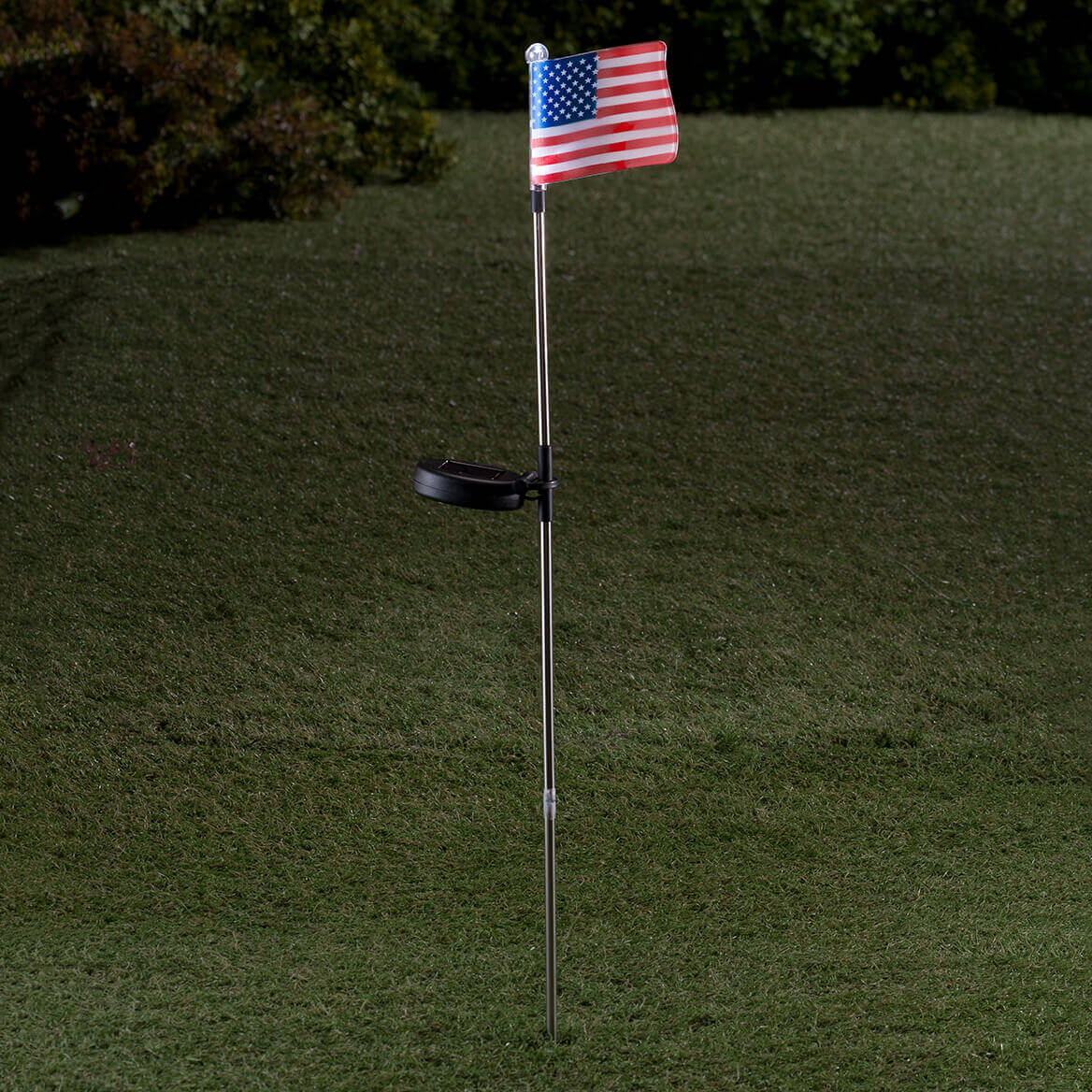 American Flag Solar Light-361695