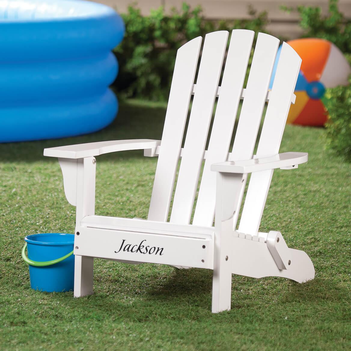Personalized Childrenu0027s Adirondack Chair