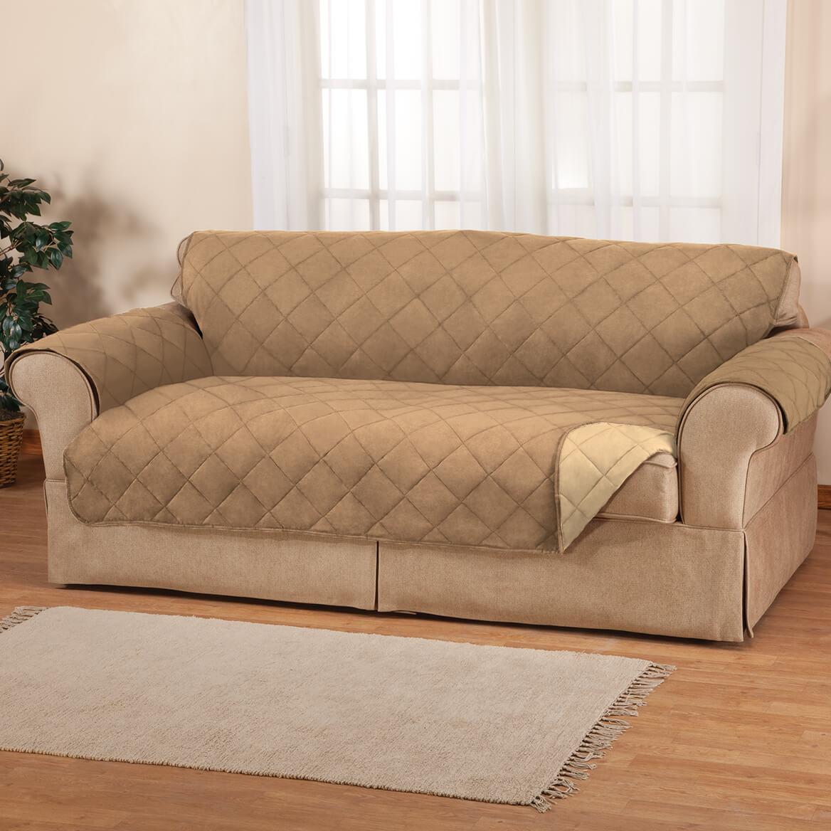 Naomi Suede-Microfiber XL Sofa Cover By OakRidge