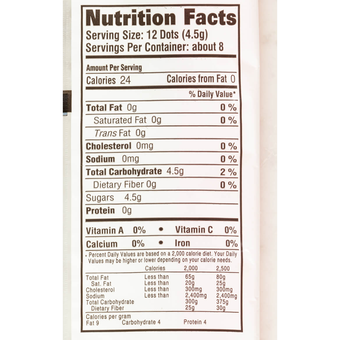 Jumbo Candy Buttons, 1.5 oz.-361924