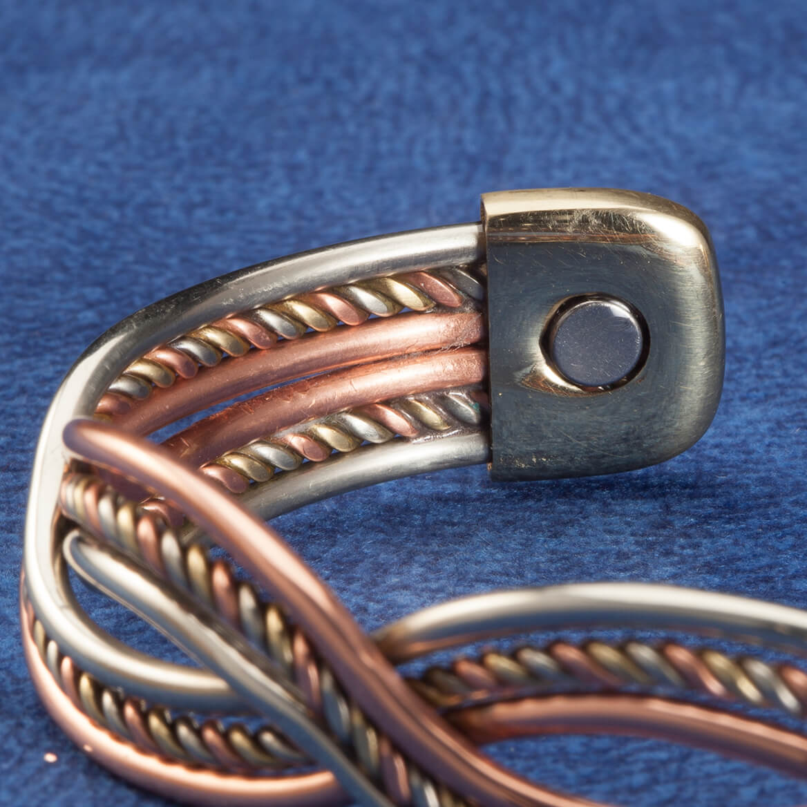 Magnetic Copper Braid Cuff-362352