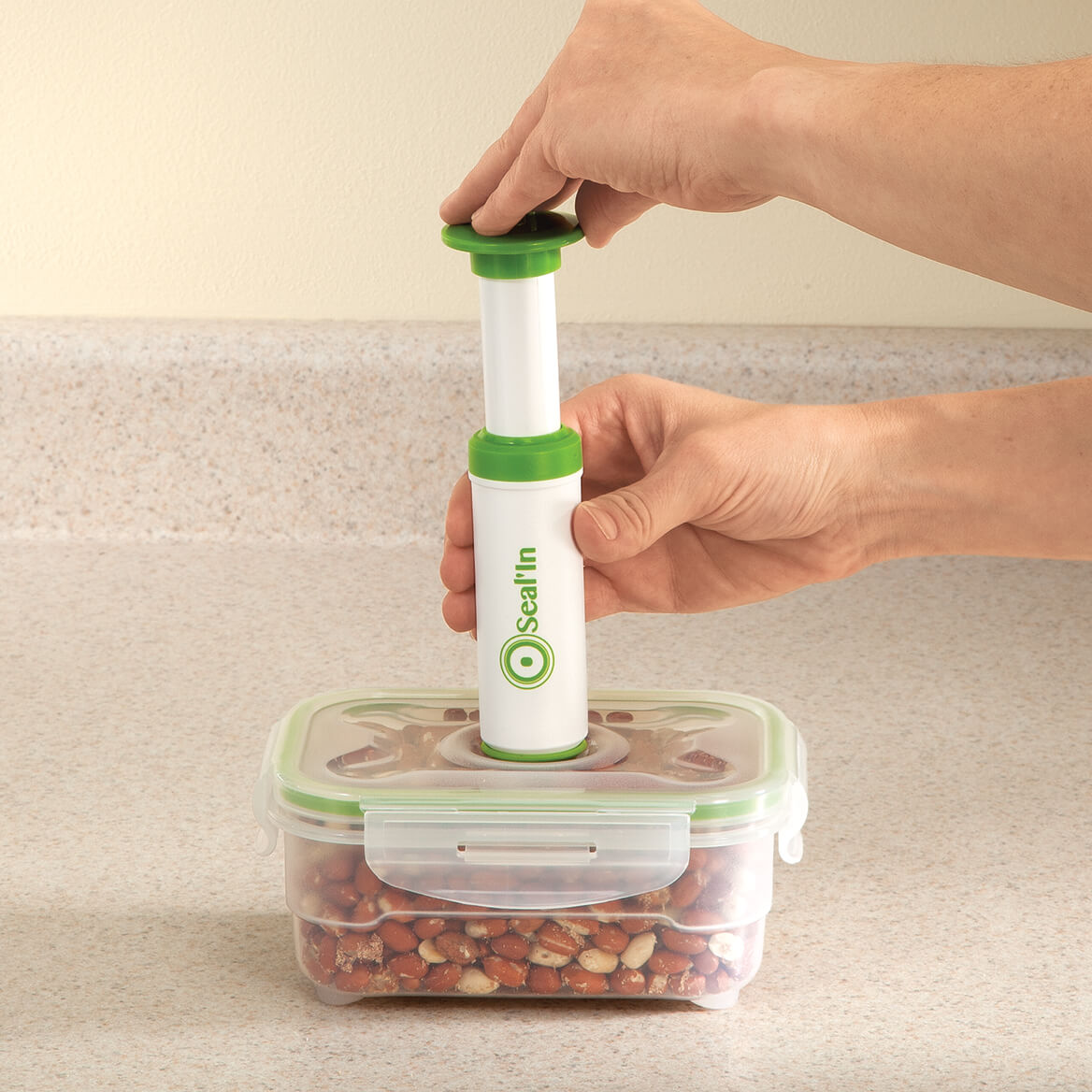 Seal'In 9pc Nestable Storage Containers-362493