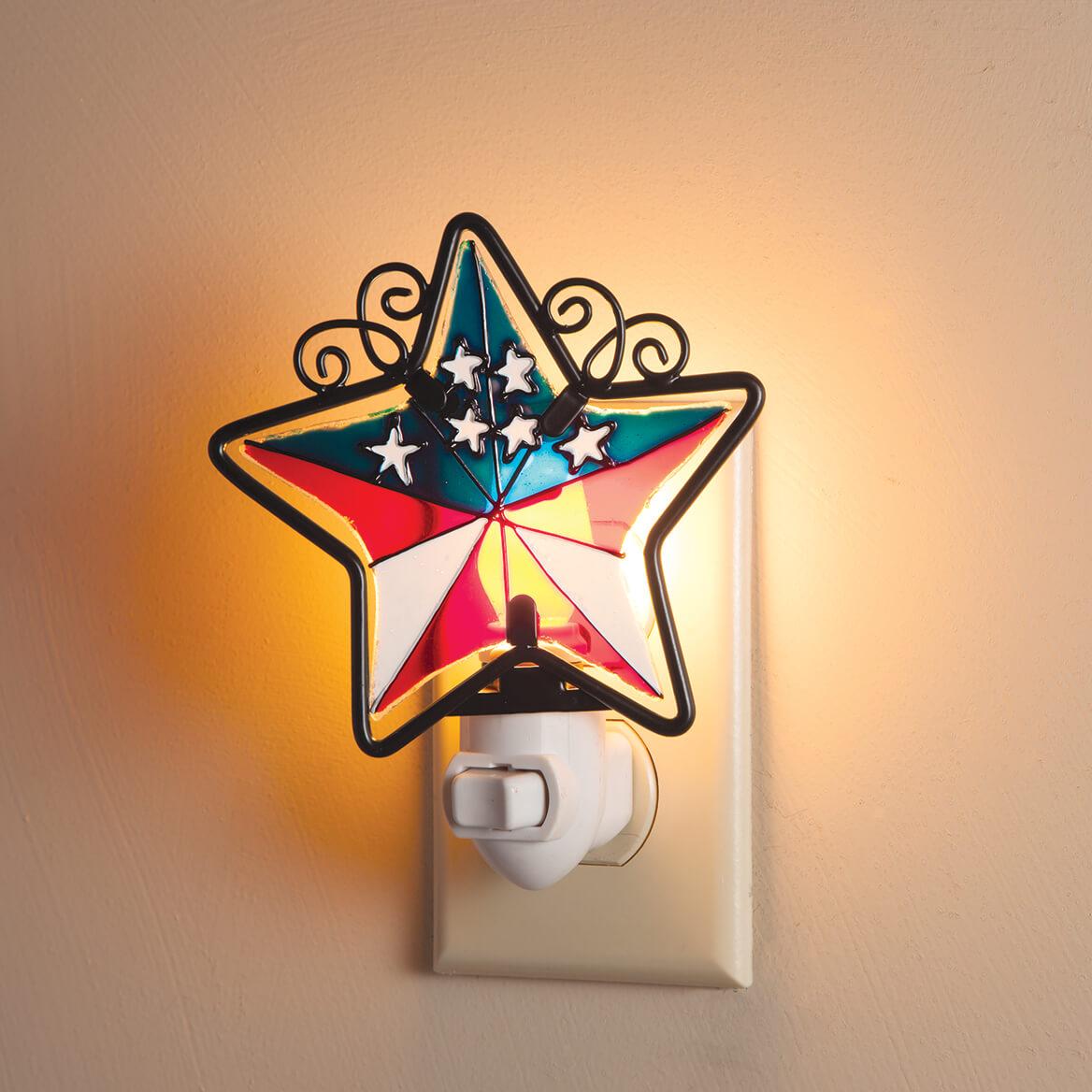 Patriotic Barn Star Night Light-362559