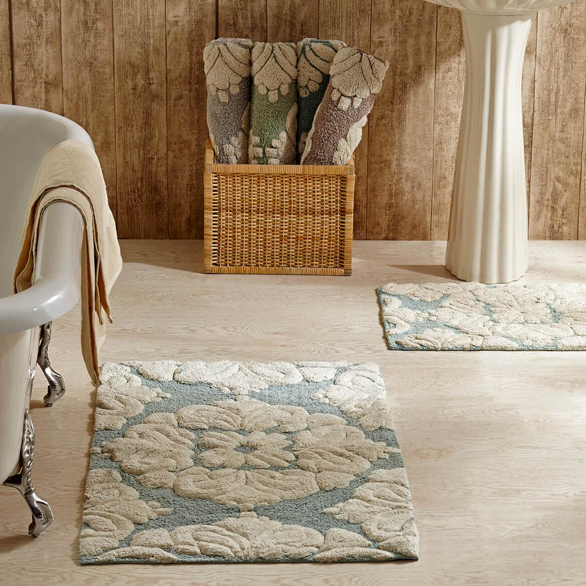 Cotton Medallion Bathmat Set of 2-362754