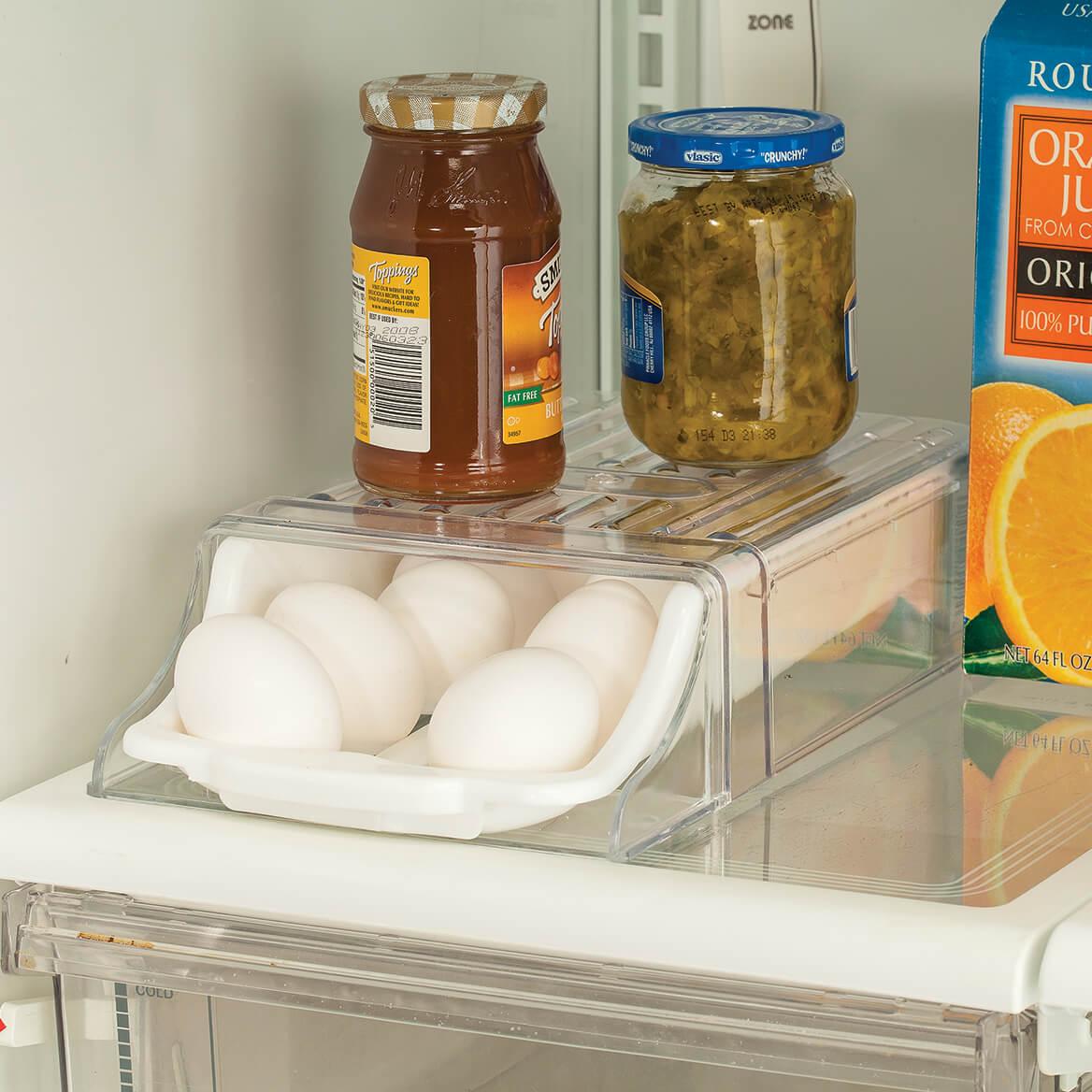 Fridge Egg Drawer with Shelf-362926