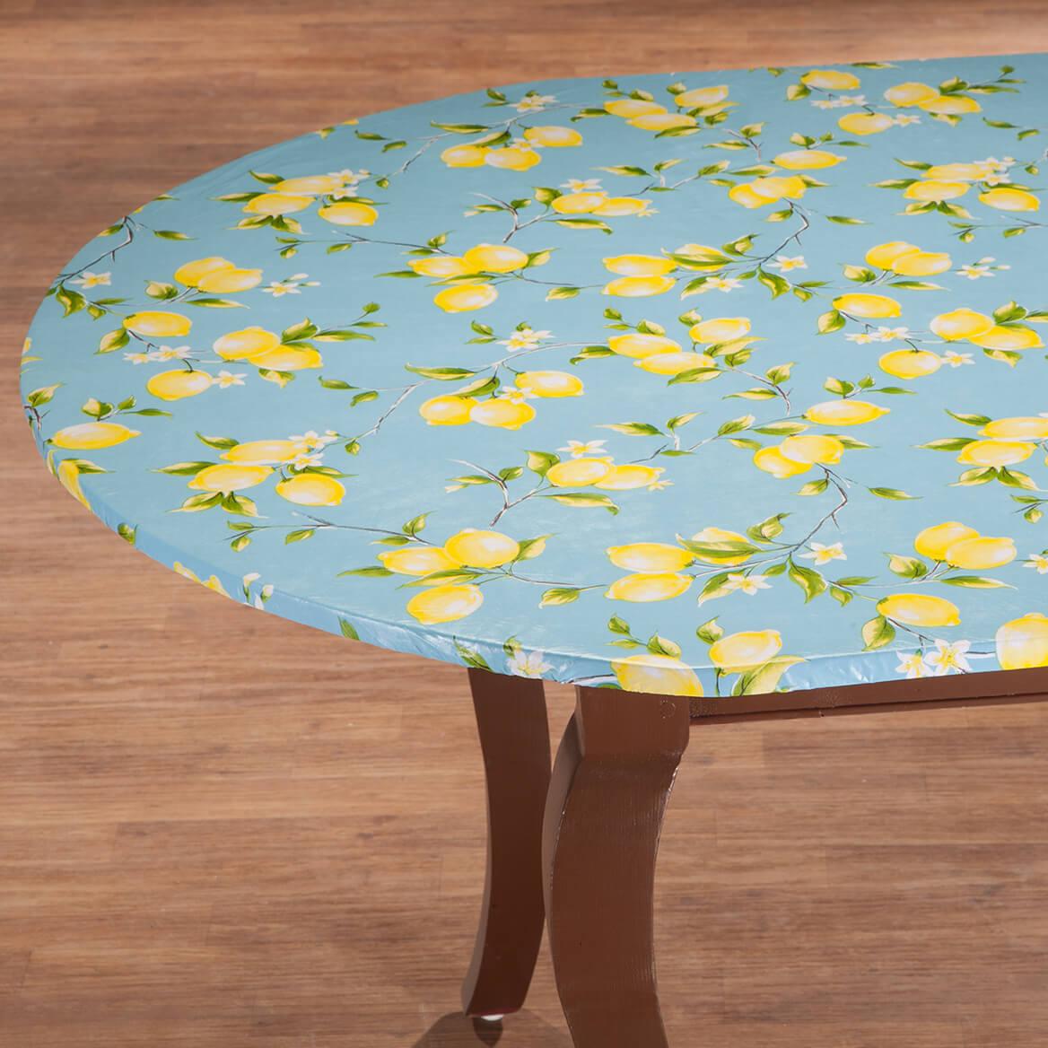 Lemon Tree Elastic  Vinyl Tablecover-363043