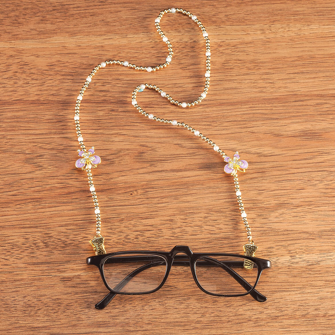 378f5dd00efb Beaded Eyeglass Chain - Eyeglass Chain Necklace - Miles Kimball
