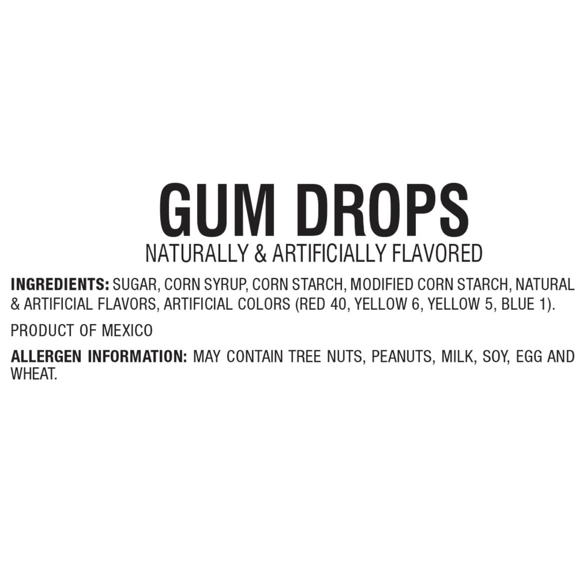 Giant Gum Drops 24 oz.-363459