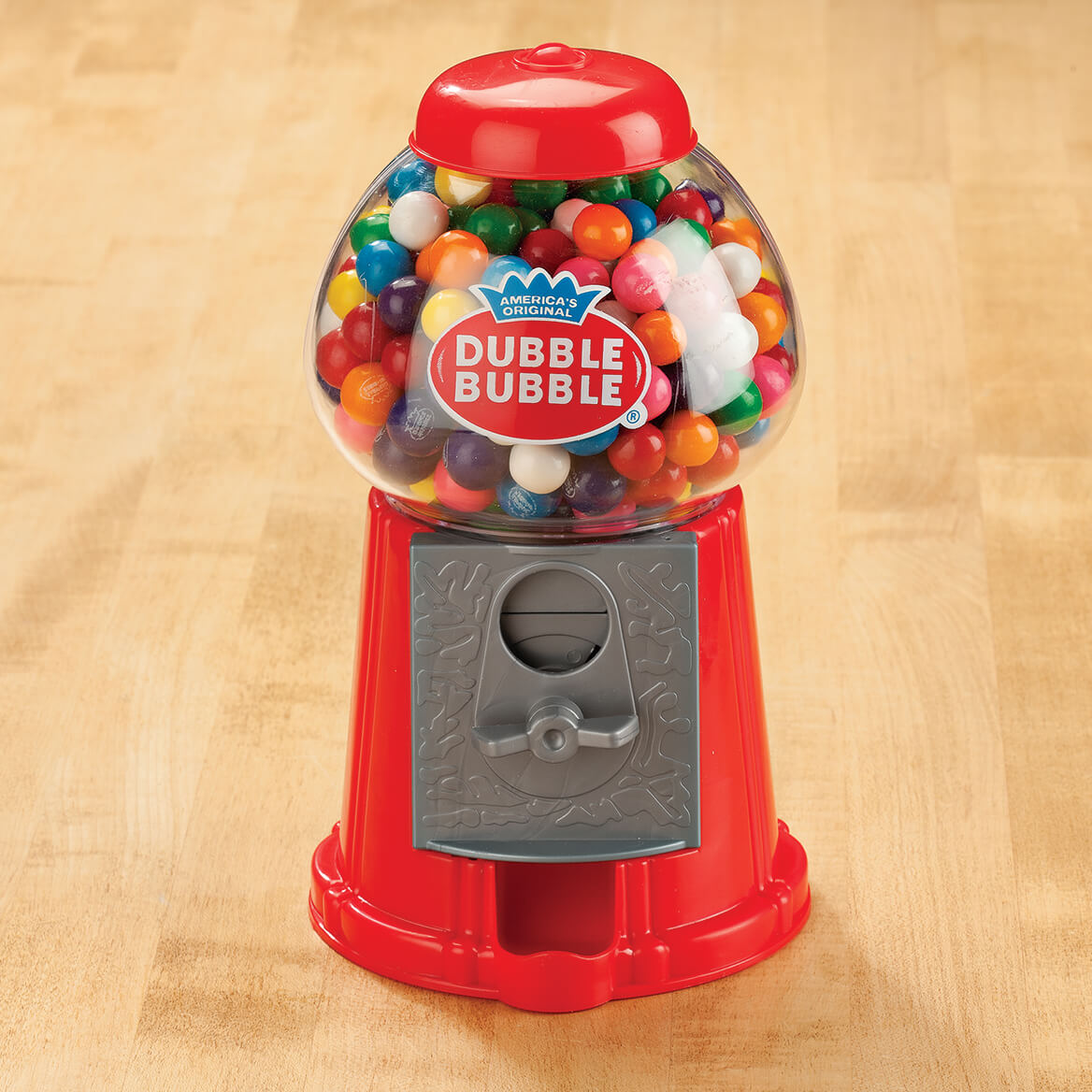 Dubble Bubble Gumball Bank 363462 Raspberry Candy