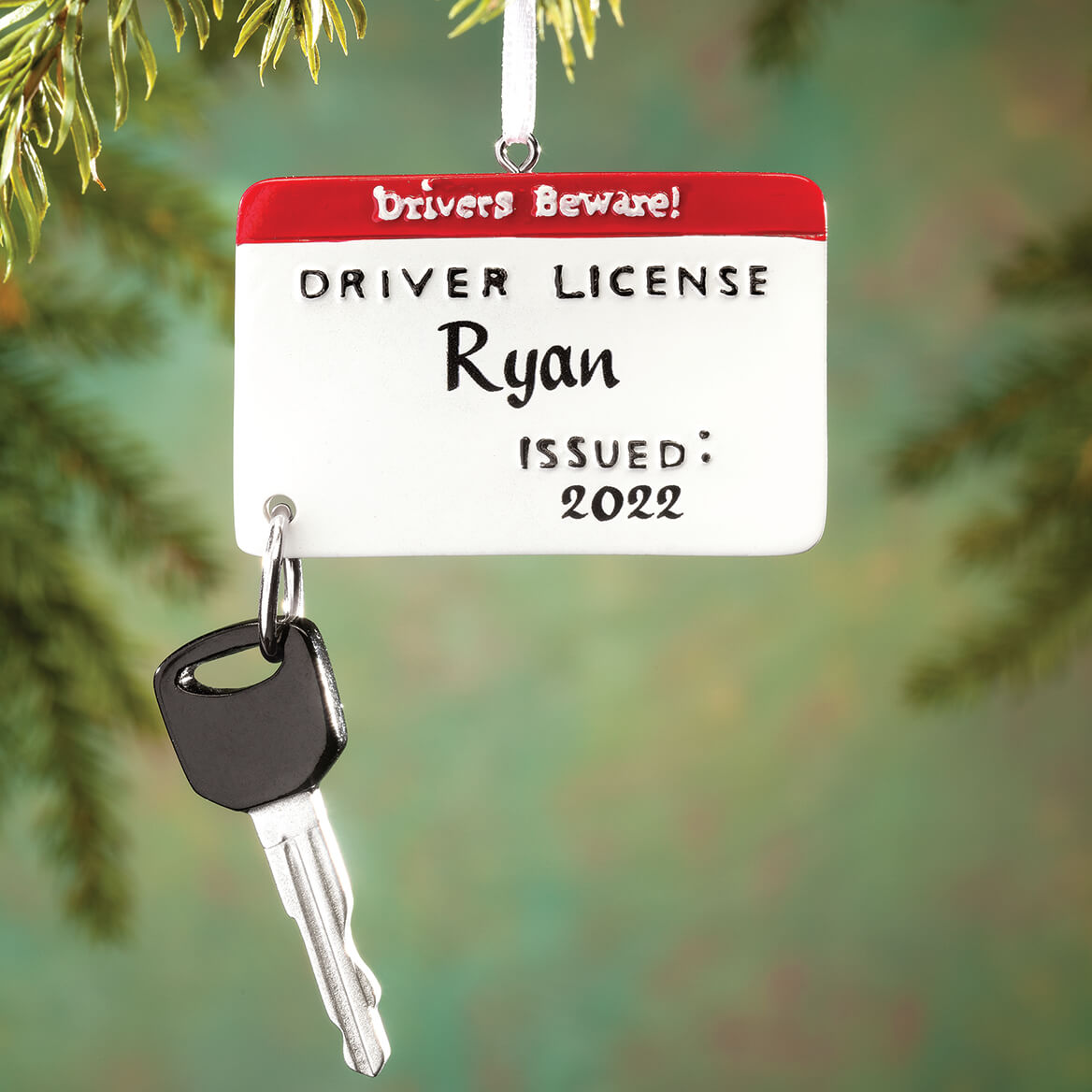 Personalized New Driver Ornament-363562