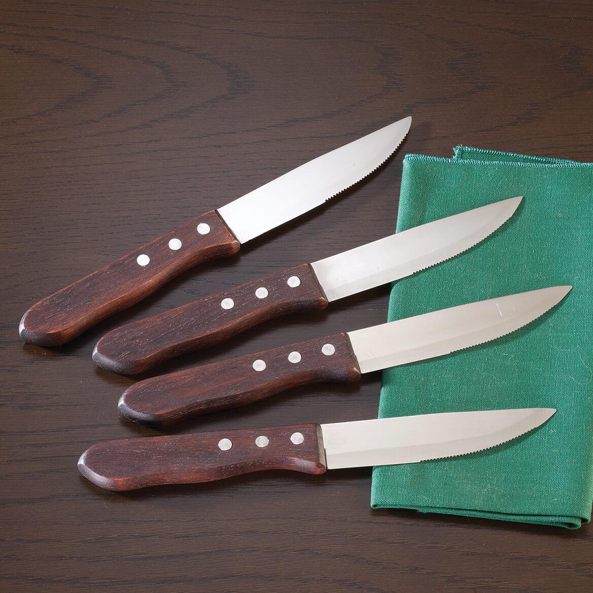Restaurant Style Steak Knives, Set of 4-363802
