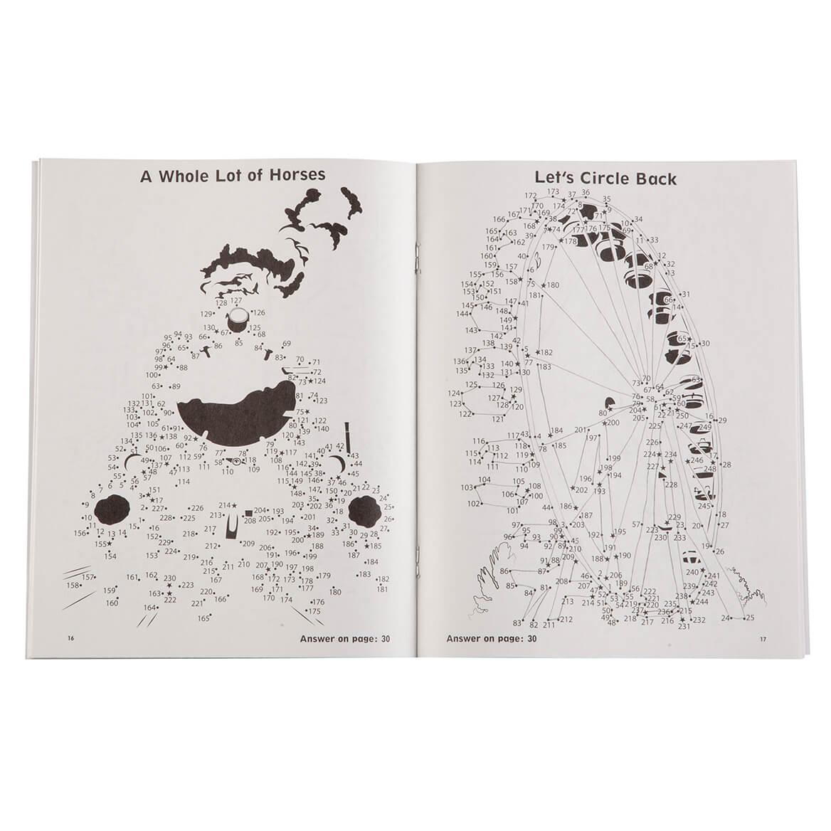 Brain Games® Large Print Dot to Dot Set/5-363816
