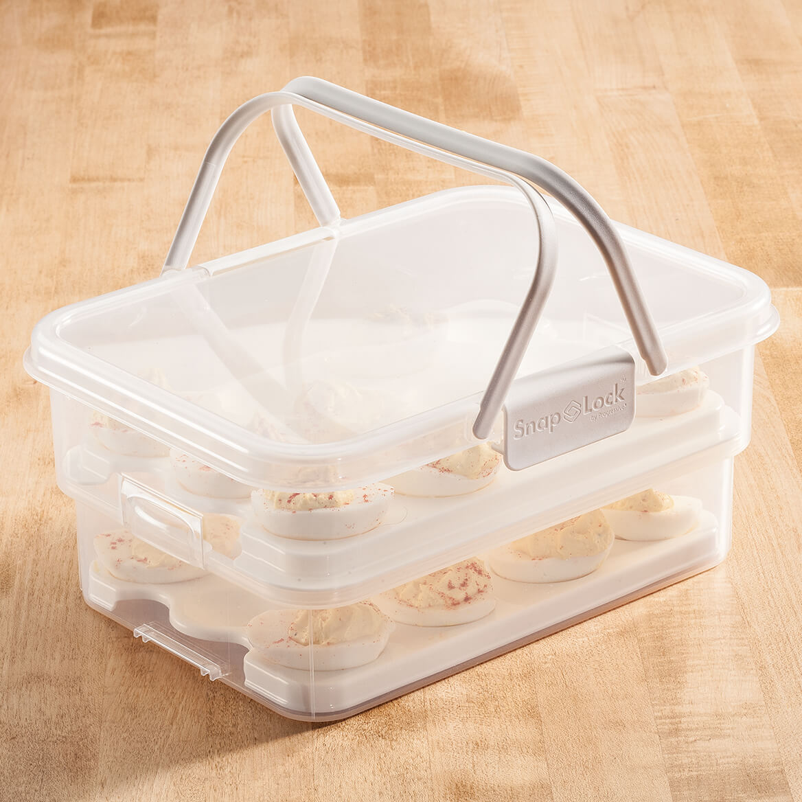 Collapsible Deviled Egg Carrier-363827
