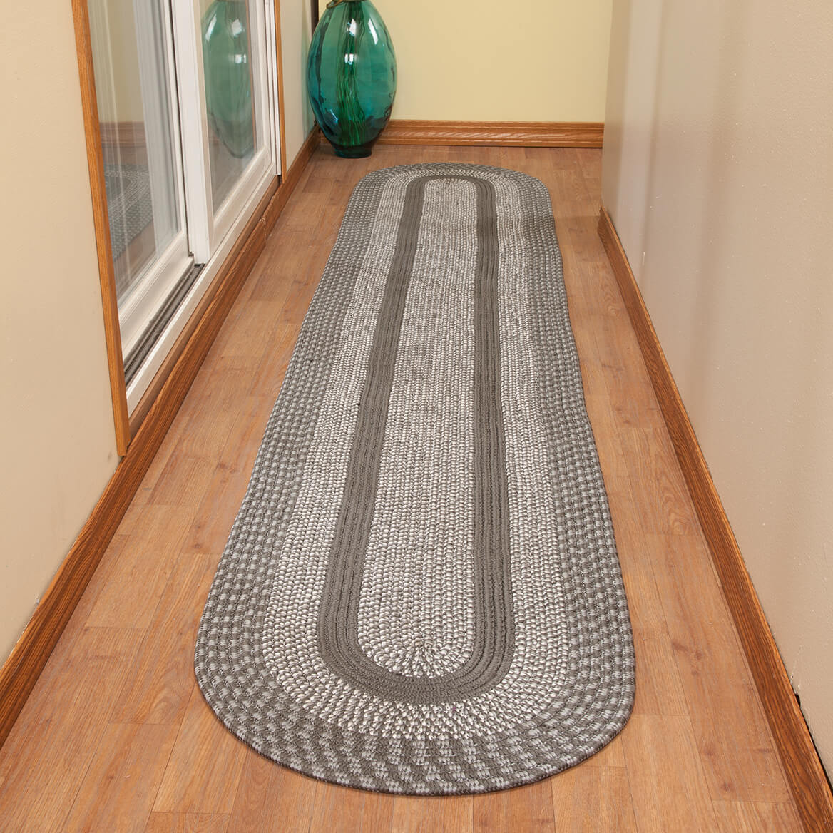 Two-Tone Country Braided Rug by OakRidge        XL-363863