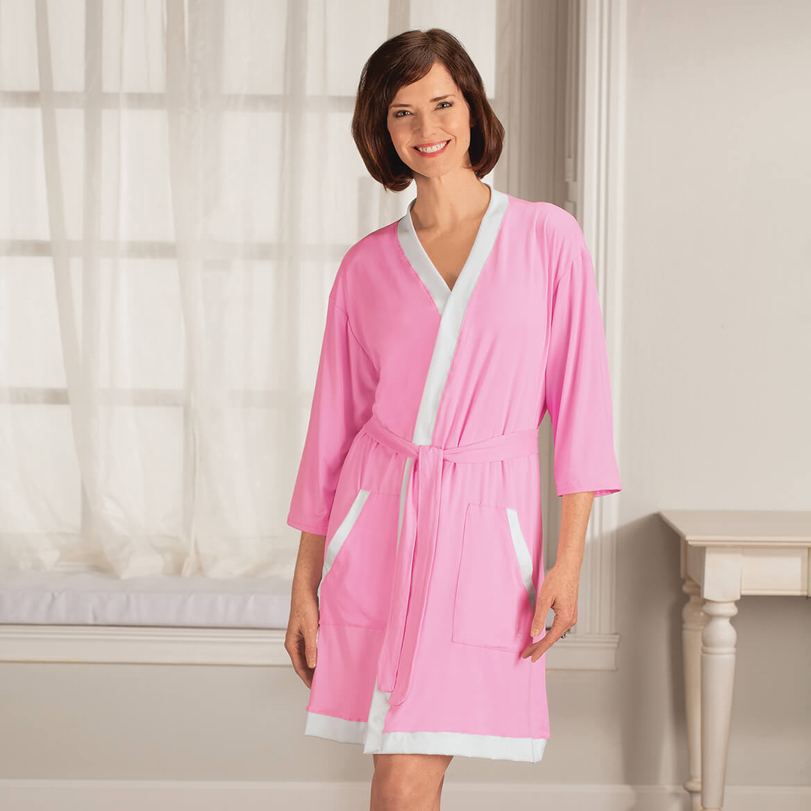 a39f41289bbf Lounge Robe - Bathrobes for Women - Ladies Robes - Miles Kimball