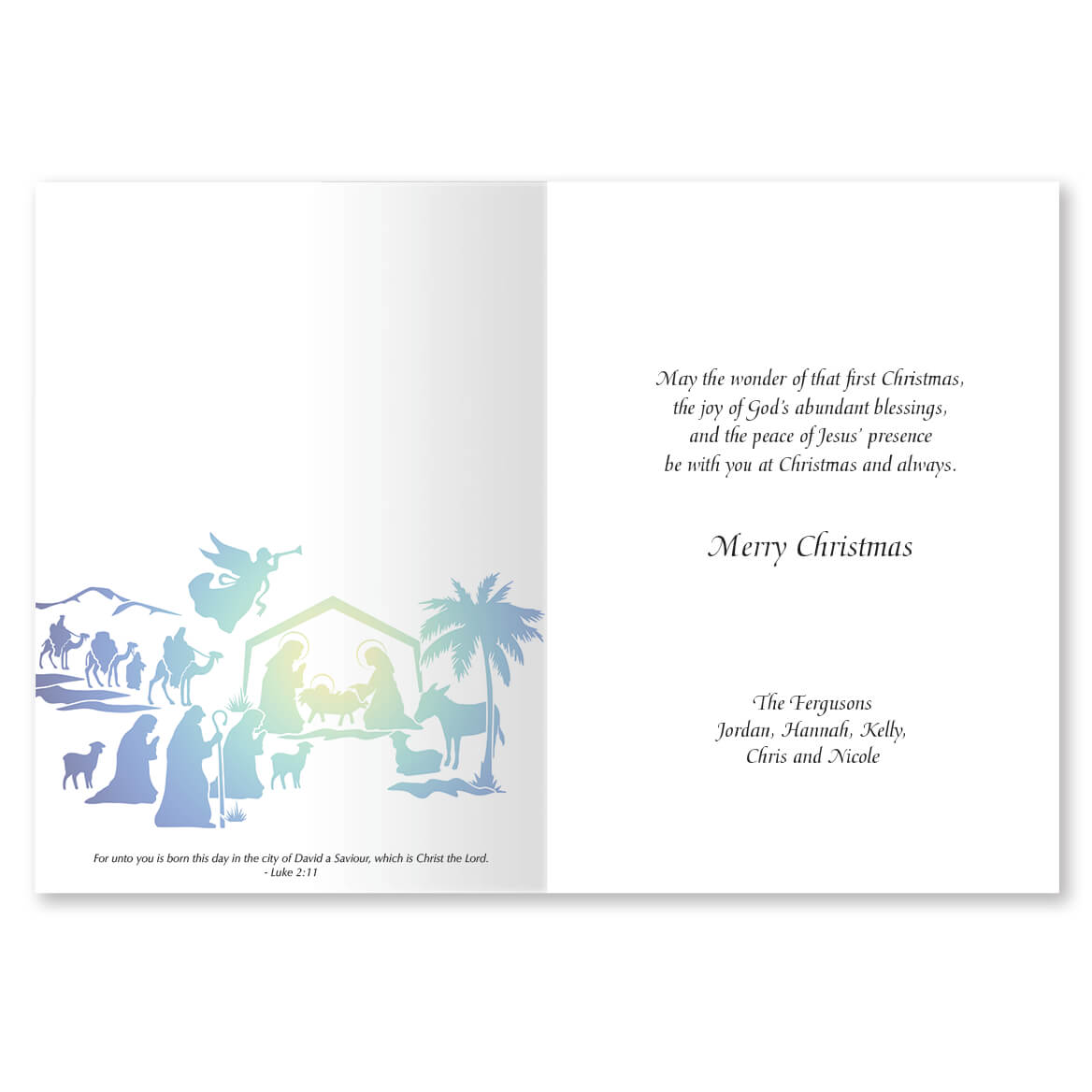 The Nativity Story Christmas Card Set of 20-364038