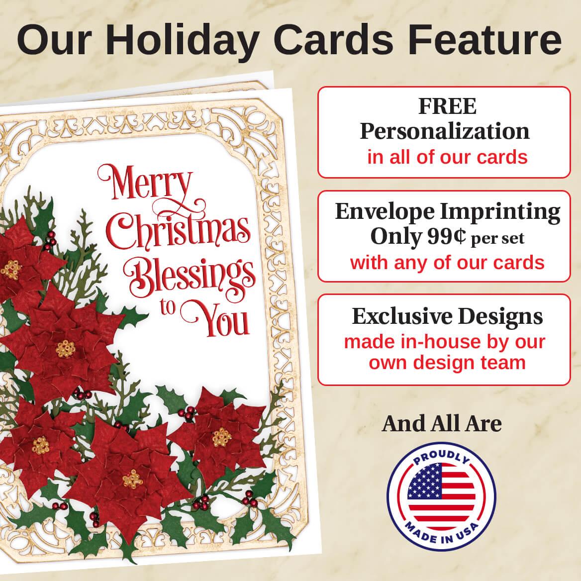 Tis the Reason Christmas Card Set of 20-364059