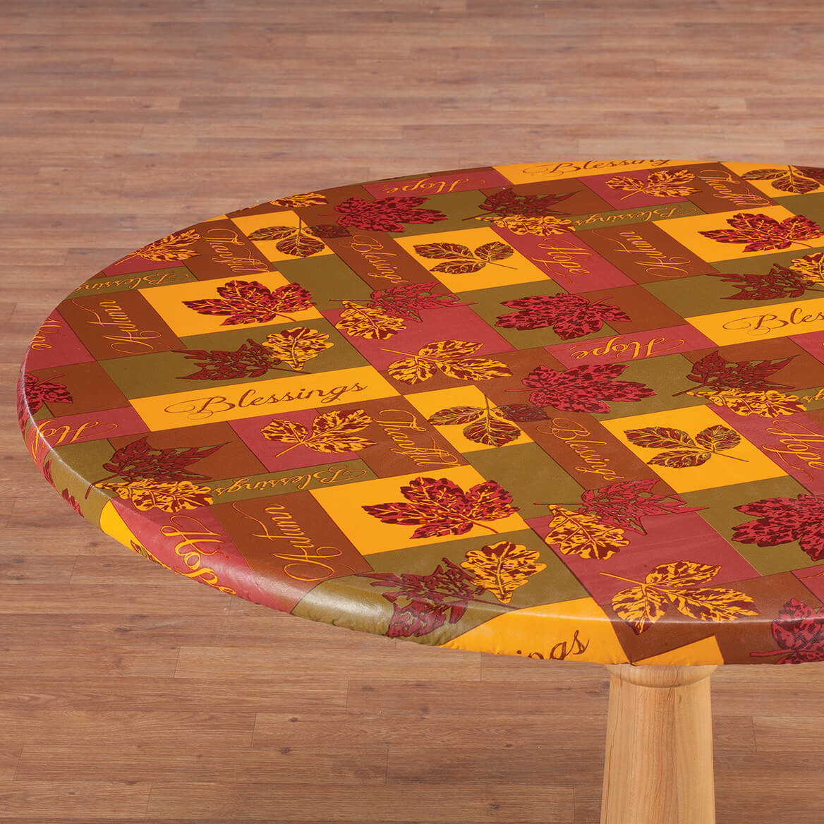 Falling Leaves Blessings Elasticized Tablecover-364100