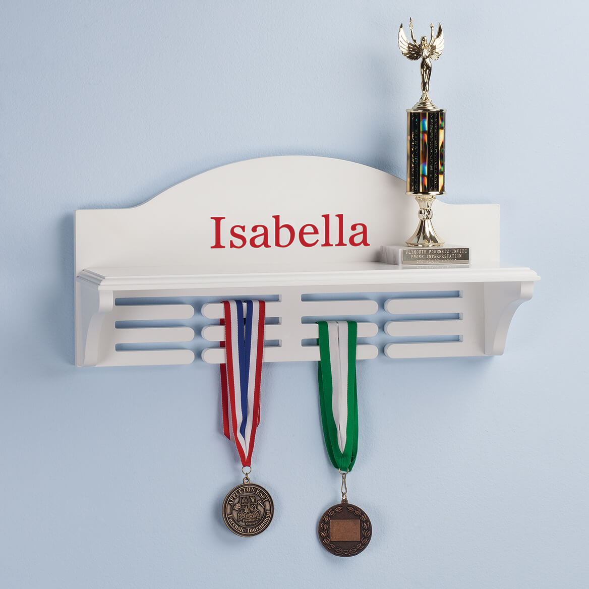 Personalized Medal and Trophy Holder-364182