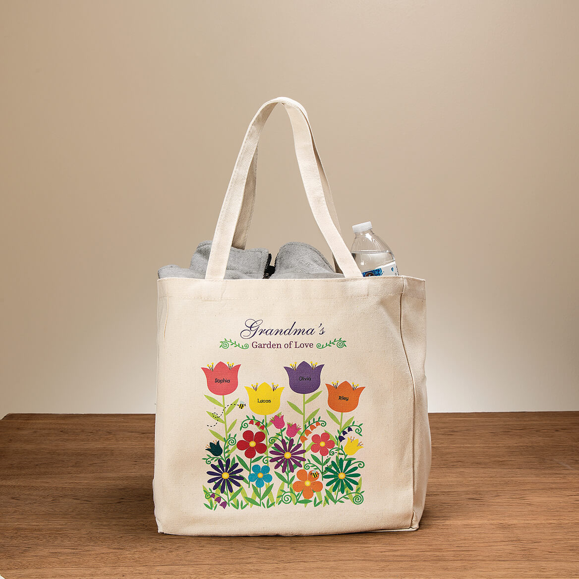 Personalized Garden of Love Tote-364387