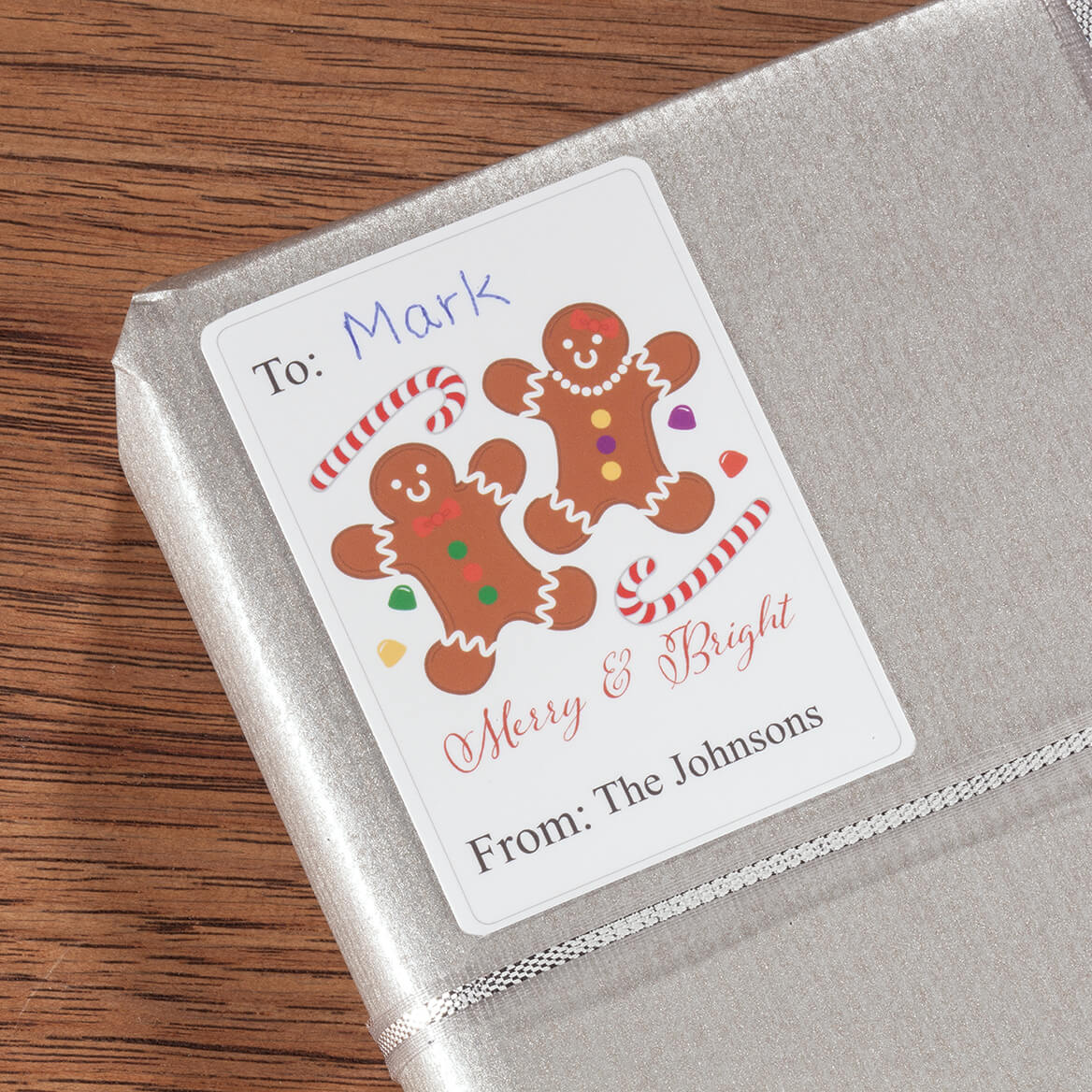 Personalized Holiday Gift Labels, Set of 120-364388