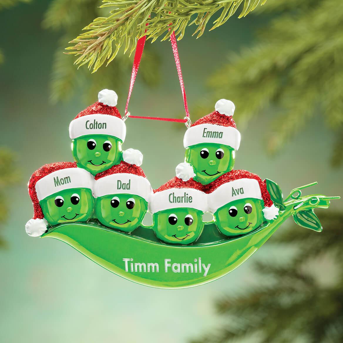 Personalized Peas in a Pod Ornament-364488
