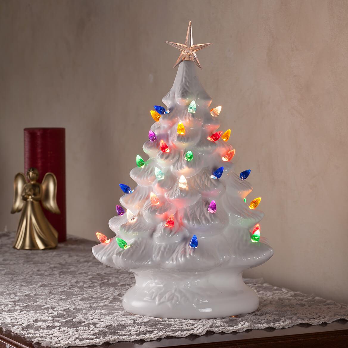 white ceramic tree 364535 white ceramic tree 364535 - White Ceramic Christmas Tree