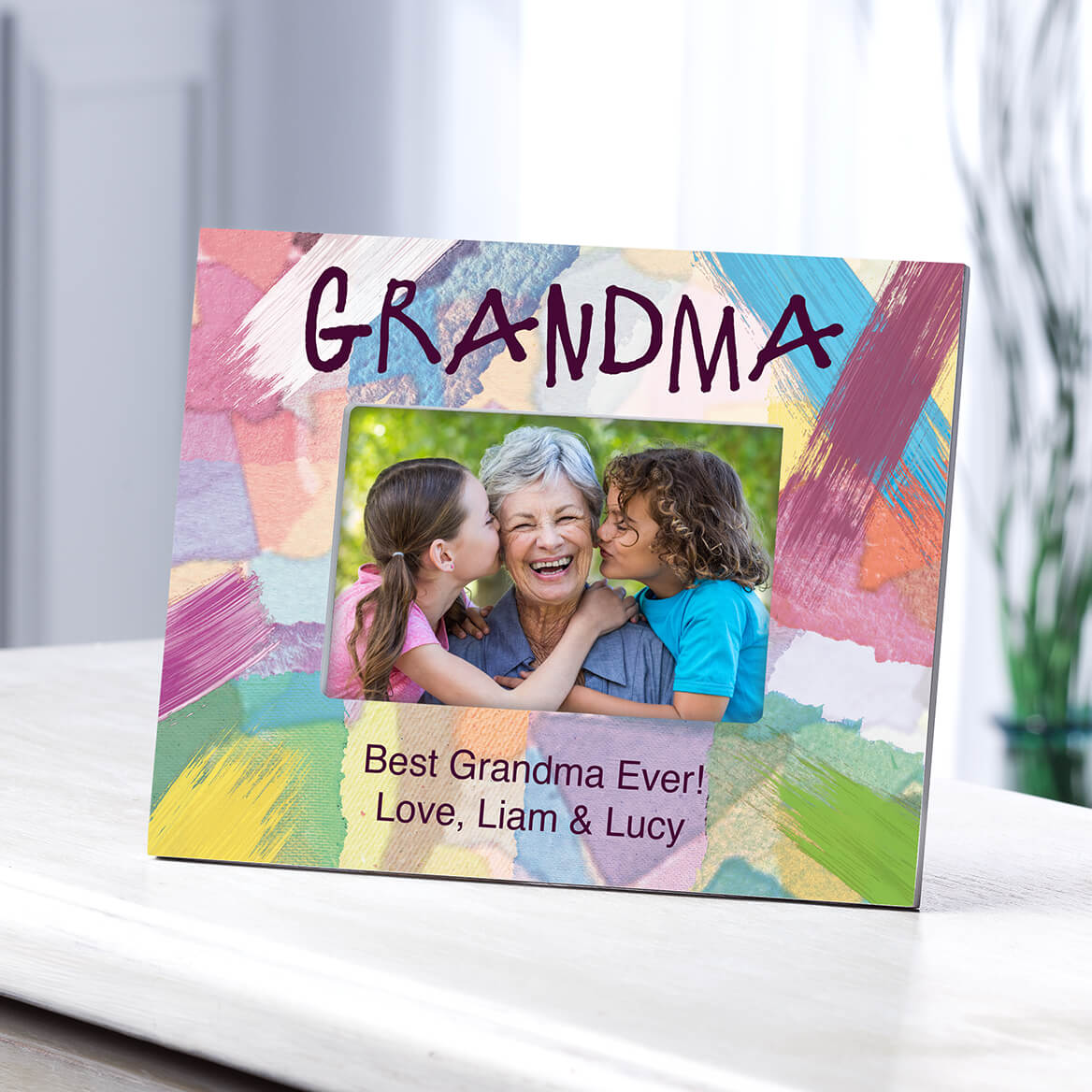 Personalized Grandma I Made It Just For You Frame-364640