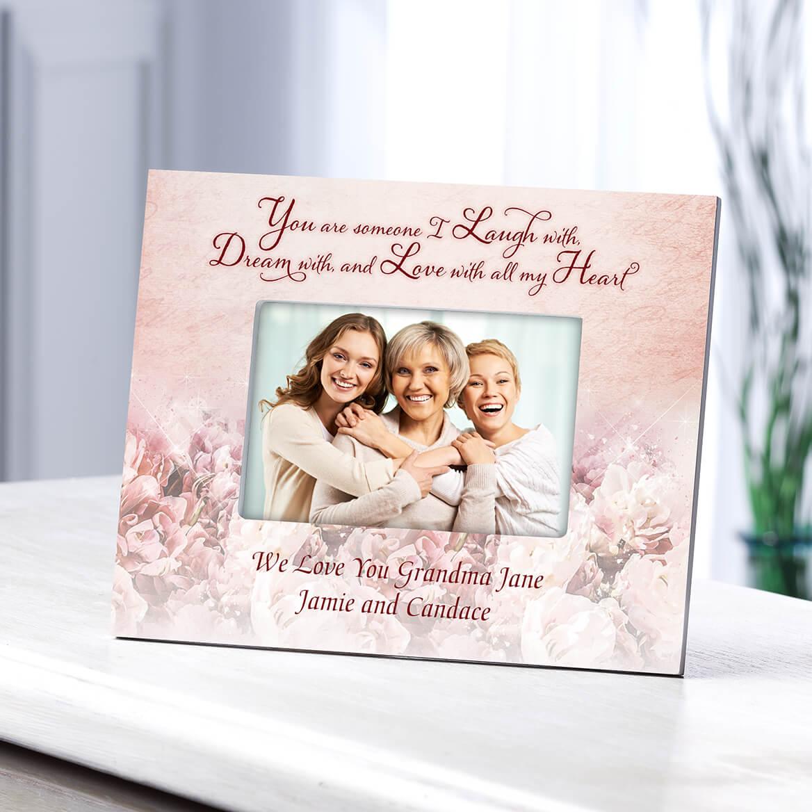 Personalized Laugh Dream & Love Frame-364641