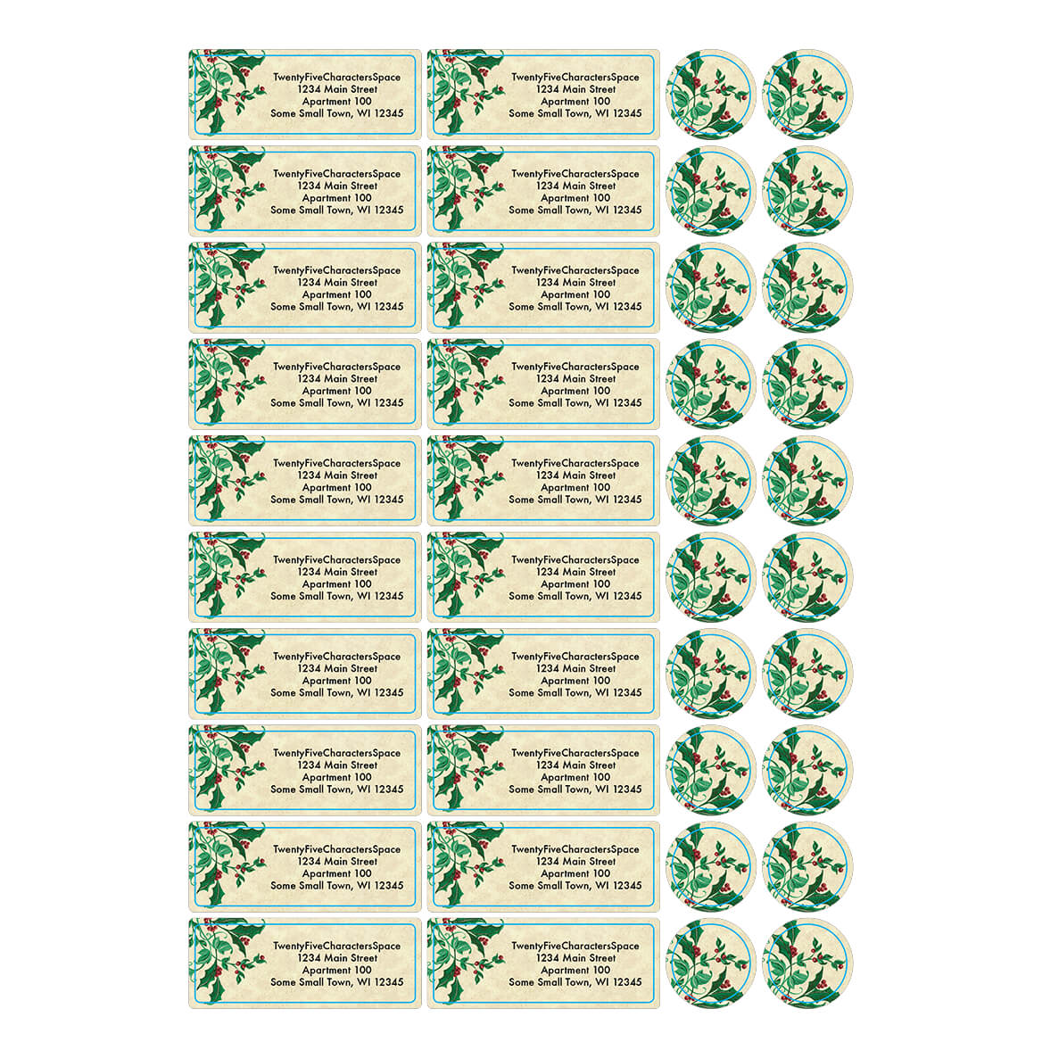 Personalized He is the Way Address Labels & Seals 20-364730