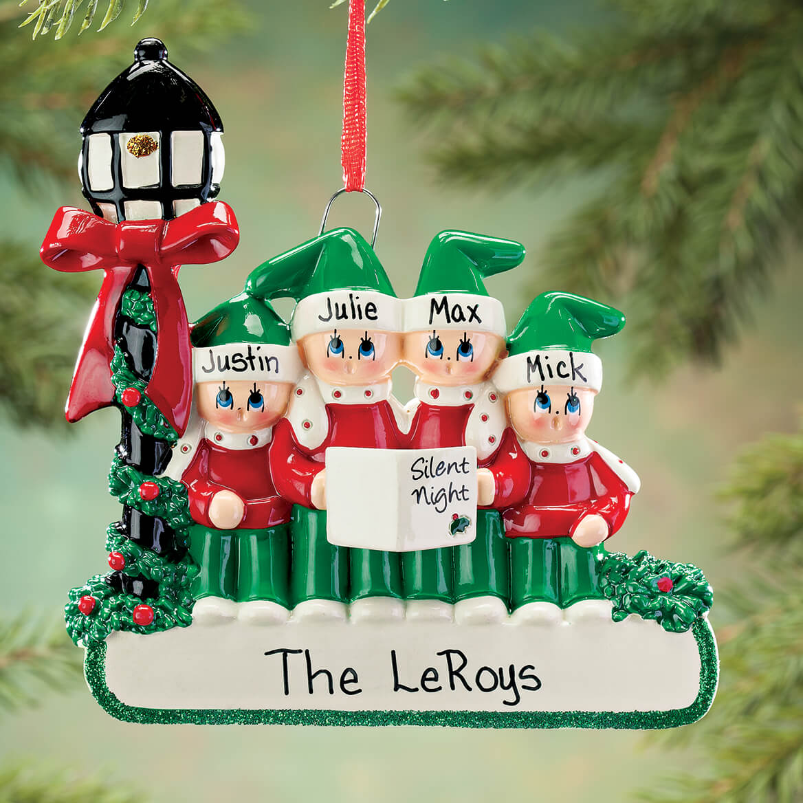 Personalized Caroler Family Ornament-364870
