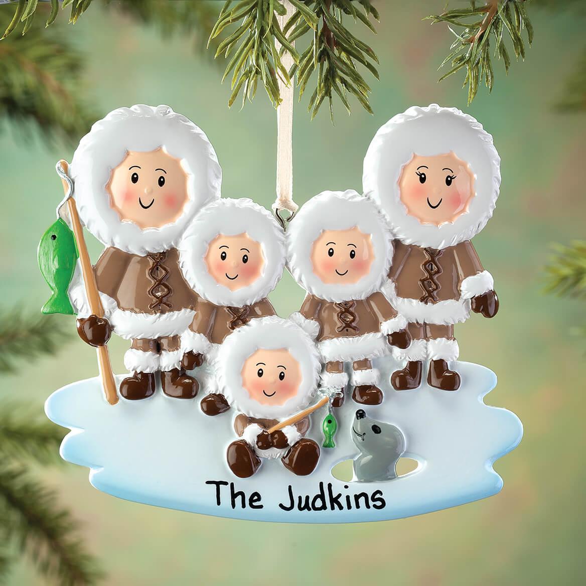 Personalized Eskimo Family Ornament-364879