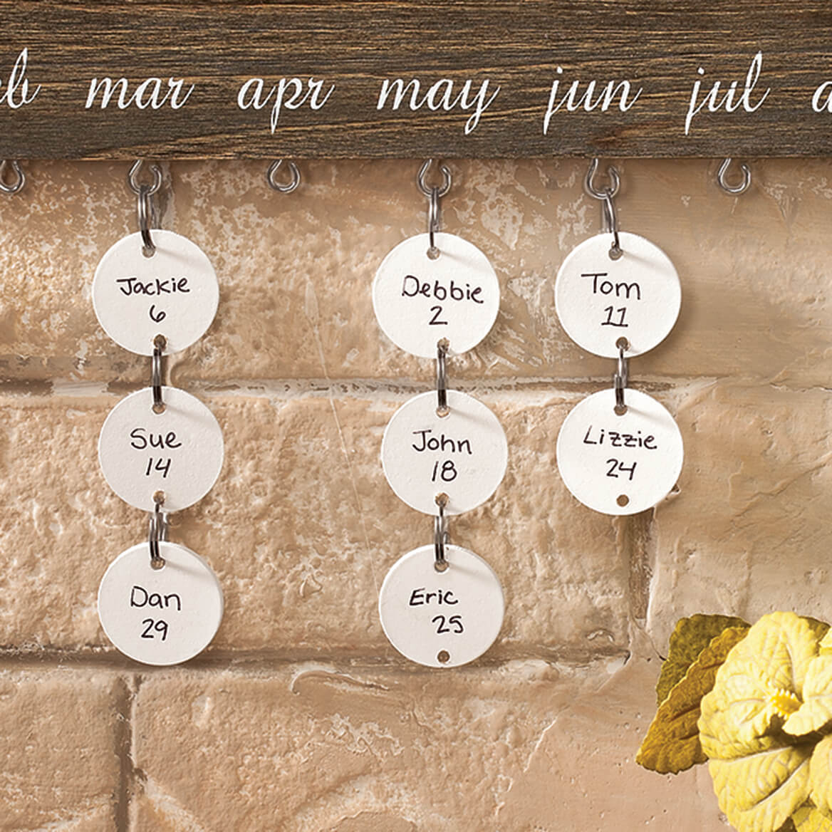Dates to Remember Wall Hanging Additional Tags, Set of 24-364901