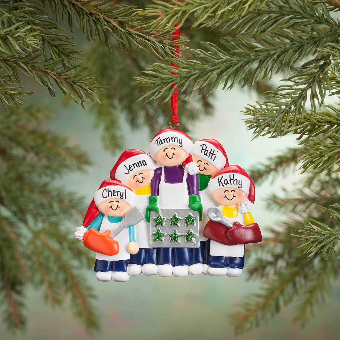 Personalized Family Cookie Baking Ornament-365696