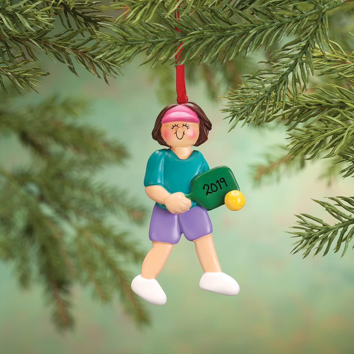 Personalized Pickleball Ornament-365725