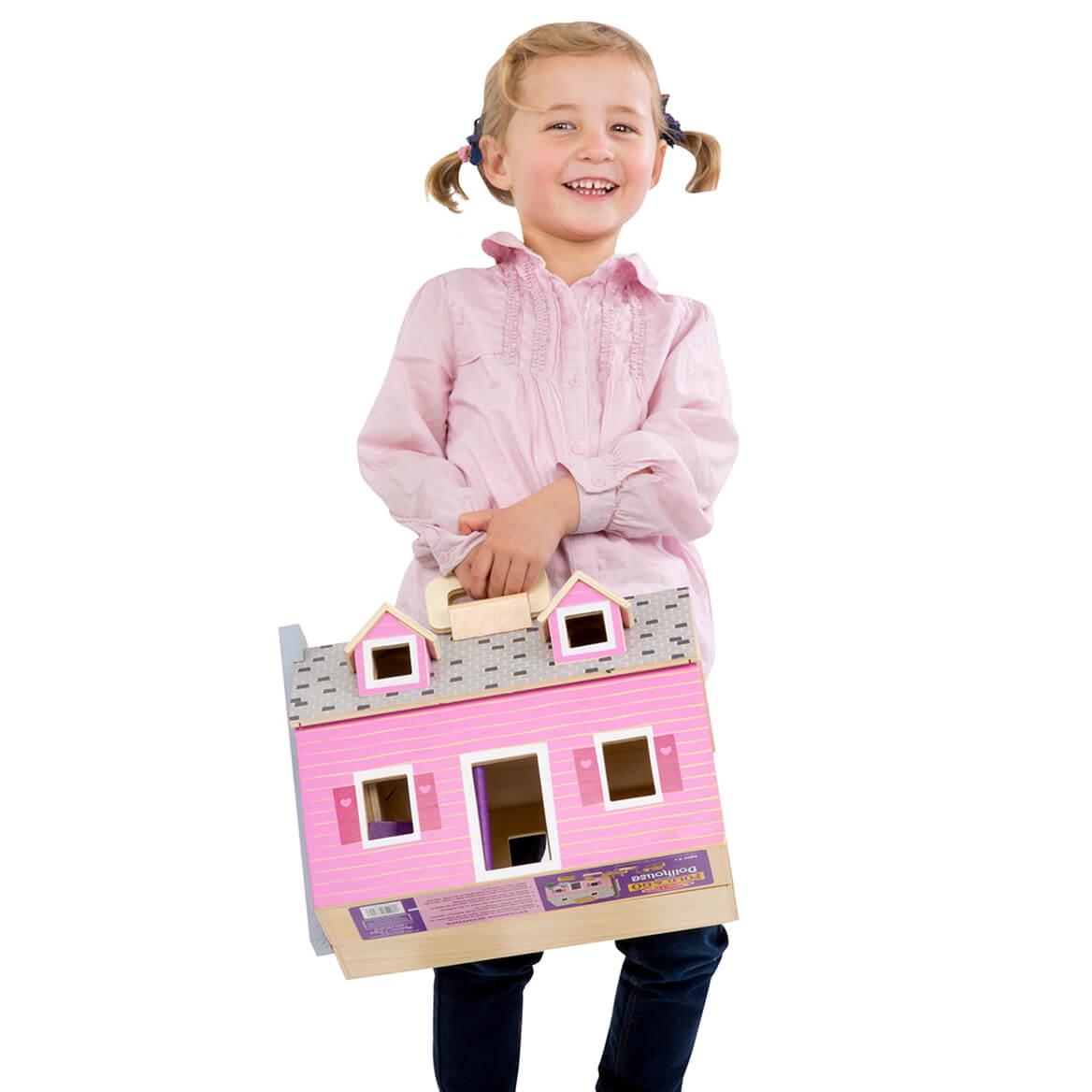 Melissa & Doug® Fold & Go Dollhouse-366318