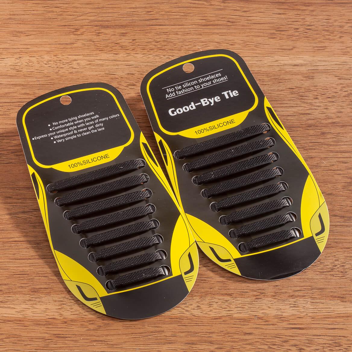 Silver Steps™ No Tie Stretch Shoe Laces-366371